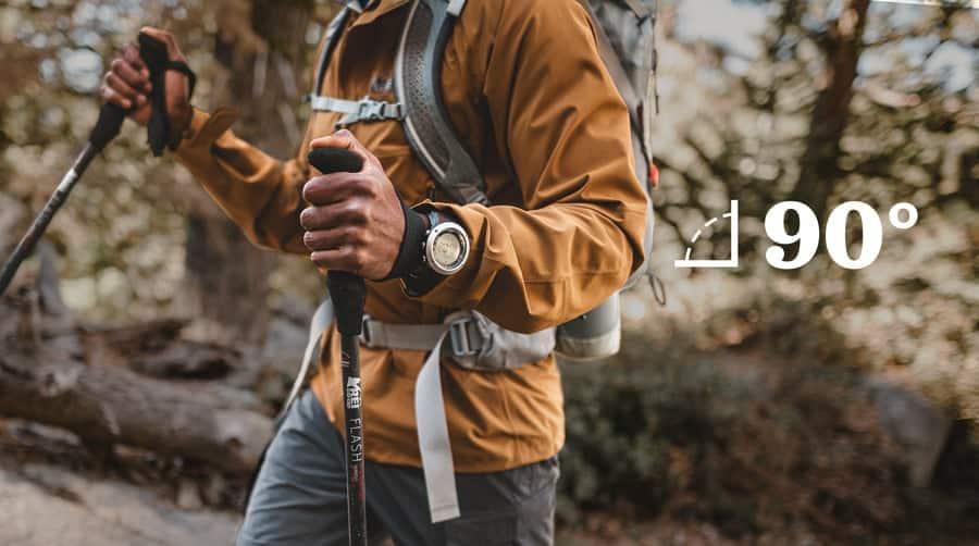trekking poles length